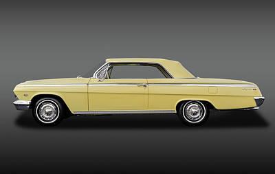 1962 Chevrolet Impala Super Sport 2 Door Hardtop  -  62chevysupersportimpalafa172073 Poster by Frank J Benz