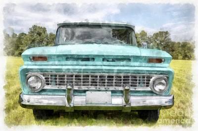 1963 Chevy Suburban Poster