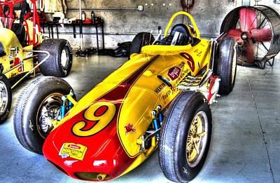 1963 Eddie Sachs Indy Car Poster