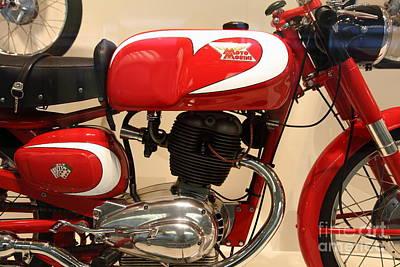 1963 Moto Morini 175cc Tresette Sprint . 5d16944 Poster