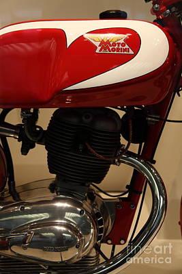 1963 Moto Morini 175cc Tresette Sprint . 5d17005 Poster