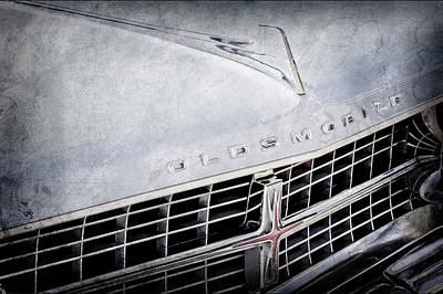 1963 Oldsmobile Starfire Grille Emblem -321ac Poster by Jill Reger