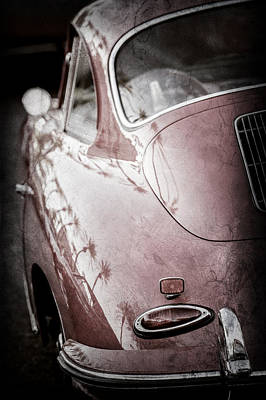 1963 Porsche 356b S Coupe Taillight -1241ac Poster by Jill Reger