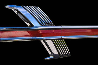 1964 Ford Fairlane Emblem Poster by Nick Gray