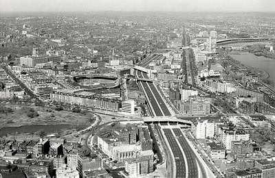 1965 Aerial View Of Boston No.2 Poster