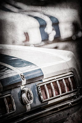 1965 Ford Shelby Mustang Gt 350 Tail Light -1037ac Poster by Jill Reger