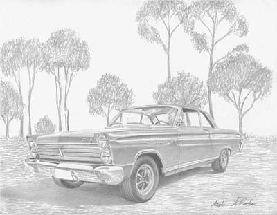 1965 Mercury Comet Caliente Classic Car Art Print Poster by Stephen Rooks