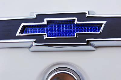 1966 Chevrolet Biscayne Emblem Poster by Jill Reger
