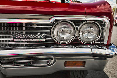 1966 Chevy Impala Ss Grill Poster
