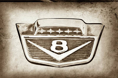 1966 Ford F100 Pickup Truck Emblem -116s Poster