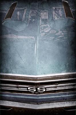 1967 Chevrolet Chevelle Super Sport Emblem -0028ac Poster