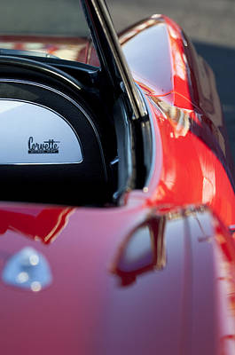 1967 Chevrolet Corvette Poster by Jill Reger