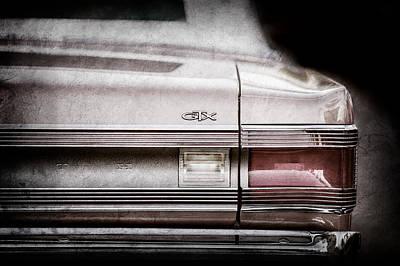 1967 Plymouth Belvedere Gtx Tail Light Emblem -0963ac Poster by Jill Reger