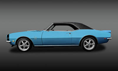 1968 Chevrolet Camaro Super Sport 396   -   1968chcam396ssfa0130 Poster