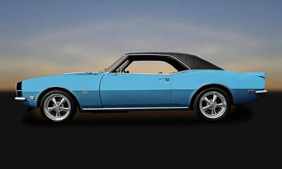 1968 Chevrolet Camaro Super Sport 396   -   1968chevycaamaross0130 Poster