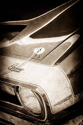 1968 Chevrolet Yenko Super Camaro Emblem -0653s Poster by Jill Reger