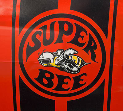 1968 Dodge Coronet Super Bee Emblem Poster