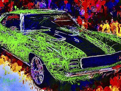 1969 Camaro Z28 Poster