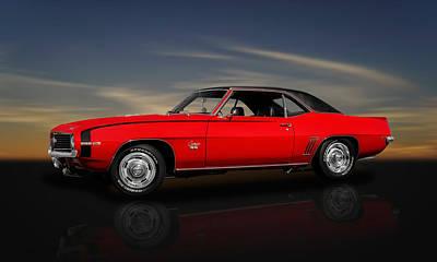 1969 Chevrolet Camaro Super Sport 350 Poster