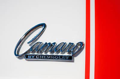 1969 Chevrolet Camaro Z-28 302 Emblem -0177c Poster by Jill Reger