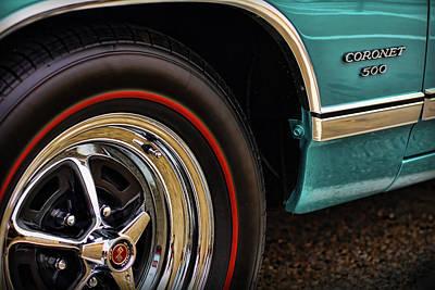 1969 Dodge Coronet 500 Poster by Gordon Dean II