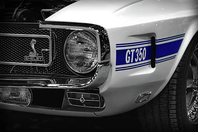 1969 Ford Mustang Shelby Gt350 1970 Poster