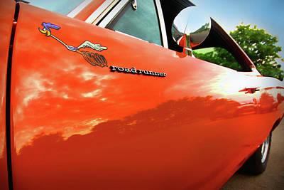 1969 Plymouth Road Runner 440 Roadrunner Poster by Gordon Dean II