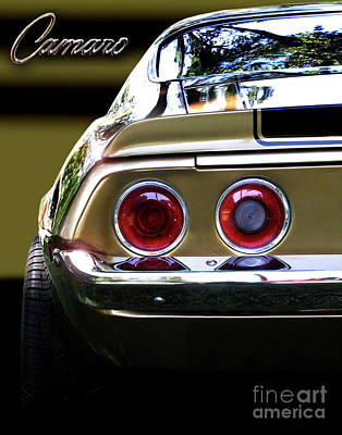 1970 Camaro Fat Ass Poster