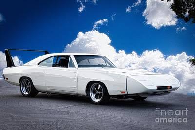 1970 Dodge Daytona Poster by Dave Koontz