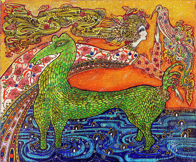 1970 Fantasy Poster by Toller Cranston