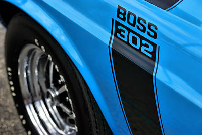 1970 Ford Mustang Boss 302 Poster