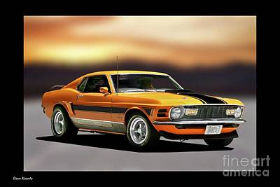 1970 Ford Mustang Mach I Poster