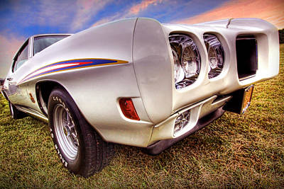 1970 Pontiac Gto The Judge Poster by Gordon Dean II