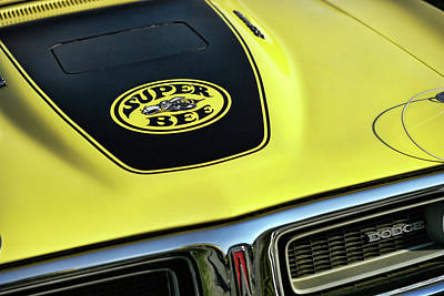 1971 Dodge Charger Super Bee Poster by Gordon Dean II