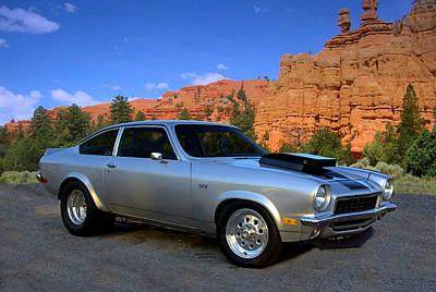 1973 Chevrolet Vega Pro Street Dragster Poster