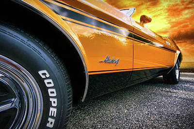 1973 Ford Mustang Poster by Gordon Dean II