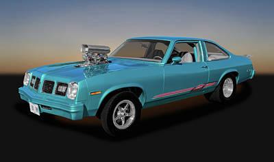 Poster featuring the photograph 1975 Pontiac Ventura  -  1975pontiacventura170502 by Frank J Benz