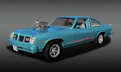 Poster featuring the photograph 1975 Pontiac Ventura  -  1975pontiacventurafa170502 by Frank J Benz