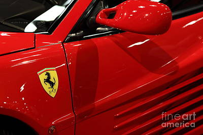 1986 Ferrari Testarossa - 5d20026 Poster by Home Decor