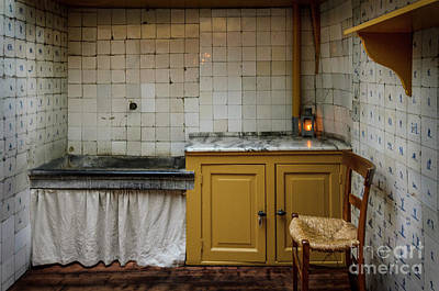 Poster featuring the photograph 19th Century Kitchen In Amsterdam by RicardMN Photography