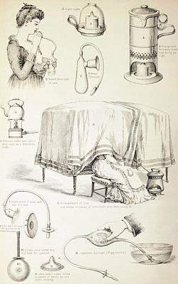 19th Century Nursery Appliances. From Poster