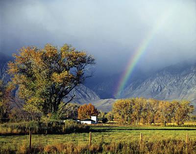 1m6345 Rainbow In Sierras Poster