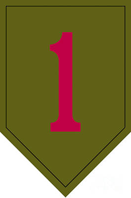 1st Infantry Division Shoulder Sleeve Poster by Stocktrek Images