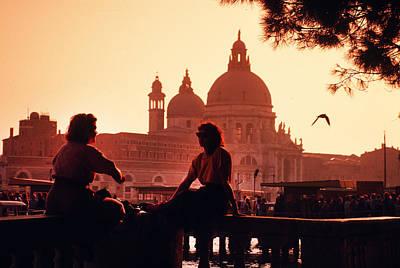 2 Women In Venice Poster