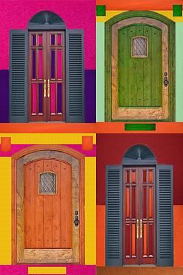 4doors Poster by Art Spectrum