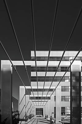 Abstract Architecture - Mississauga Poster