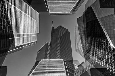Abstract Architecture - Toronto Financial District Poster
