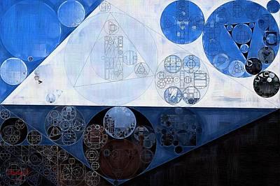 Abstract Painting - Lochmara Poster by Vitaliy Gladkiy