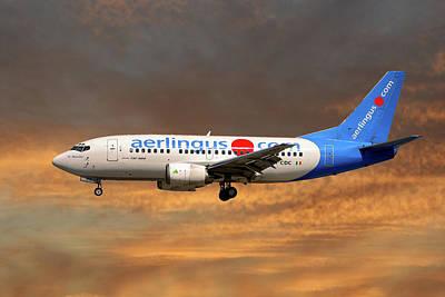 Aerlingus Boeing 737-500 Poster