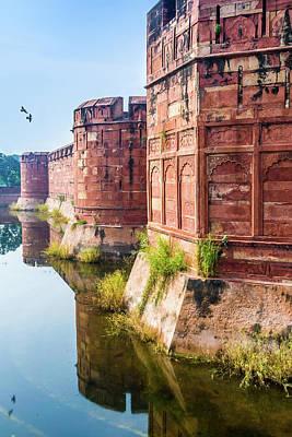 Agra Fort, Uttar Pradesh, India. Poster by Nila Newsom